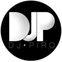 DJ PIRO Logo